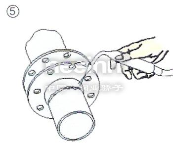 电动蝶阀气动蝶阀安装图解
