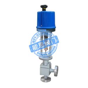 ZDLS电动角形高压调节阀
